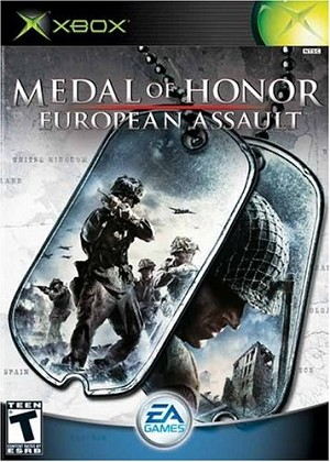 Medal of Honor: European Assault - Original Xbox Video Game