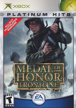 Medal of Honor: Frontline - Original Xbox Video Game