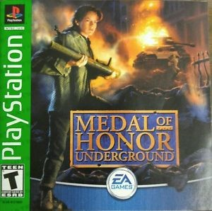 Medal of Honor Underground - PS1 Video Game