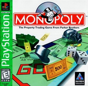 Monopoly - PS1 VIdeo Game