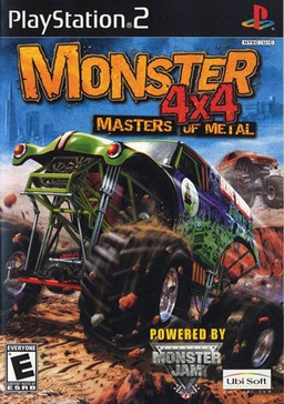 Monster 4x4 Masters of Metal - PS2 Video Game