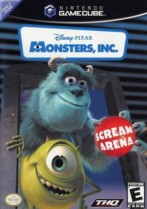 Monsters, Inc. Scream Arena - Gamecube Video Game