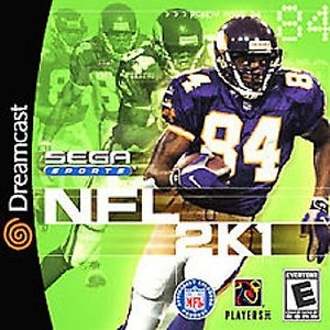 NFL 2K1 - Sega Dreamcast Video Game