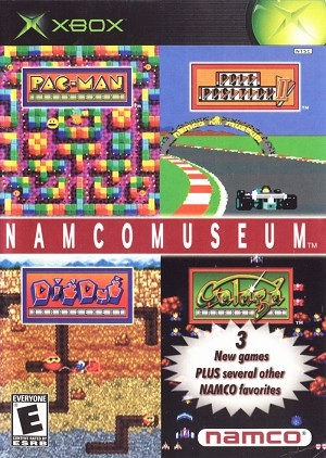 Namco Museum - Original Xbox Video Game