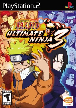 Naruto: Ultimate Ninja 3 - PS2 Video Game
