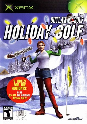 Outlaw Golf: Holiday Golf - Original Xbox Video Game