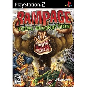 Rampage Total Destruction - PS2 Video Game
