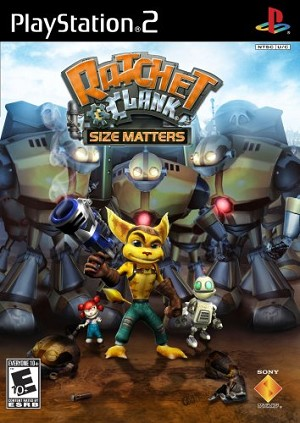 Ratchet & Clank: Size Matters - PS2 Video Game