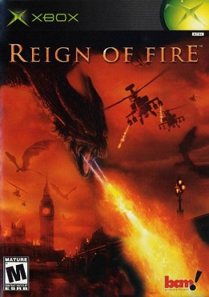 Reign of Fire - Original Xbox Video Game