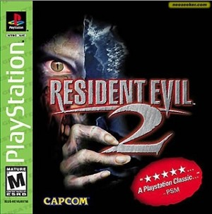 Resident Evil 2 - PS1 Video Game
