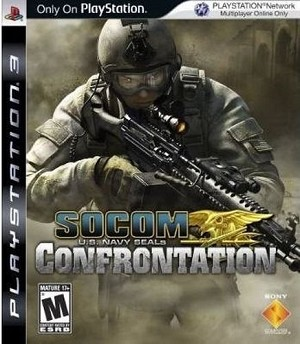 SOCOM U. S. Navy Seals: Confrontation - PS3 Video Game