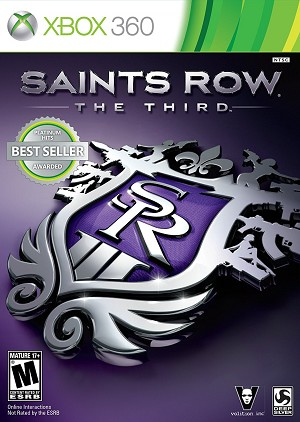 Saints Row The Third - Xbox 360 Video Game