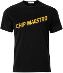 Chip Maestro Logo T-Shirt (Black)