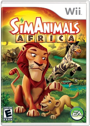 SimAnimals Africa - Wii Video Game