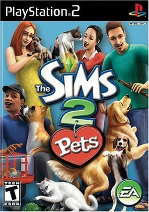 The Sims 2: Pets - PS2 Video Game