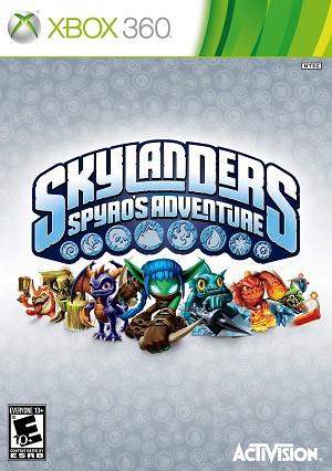 Skylanders: Spyro's Adventure - Xbox 360 Video Game