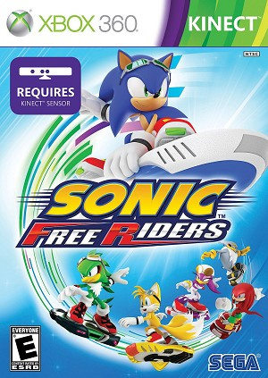 Sonic Free Riders - Xbox 360 Video Game