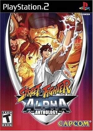 Street Fighter: Alpha Anthology - PS2 Video Game