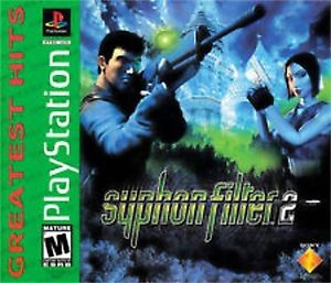 Syphon Filter 2 - PS1 Video Game