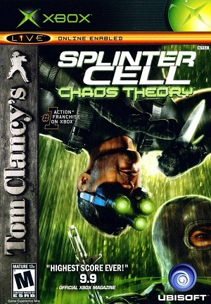 Tom Clancy's Splinter Cell: Chaos Theory - Original Xbox Video Game