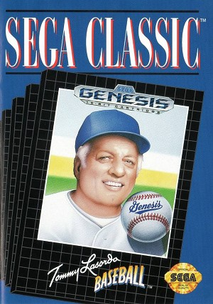 Tommy Lasorda Baseball - Sega Genesis Video Game