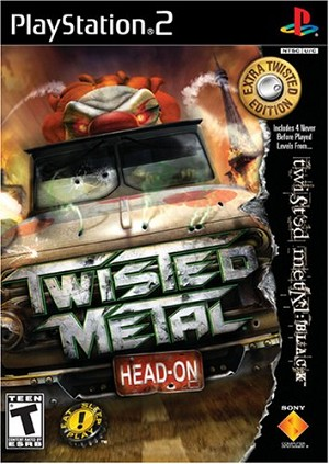 Twisted Metal: Head-On Extra Twisted Edition - PS2 Video Game