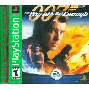 007 The World is Not Enough - PS1 Video Game
