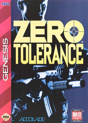 Zero Tolerance - Sega Genesis Video Game
