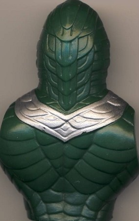 Back Body Part of King Hiss - Masters of the Universe He-Man