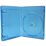 Blu-Ray Disc Case - Clear Blue