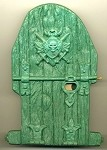 Castle Grayskull Jawbridge Front Door Part - Masters of the Universe He-Man