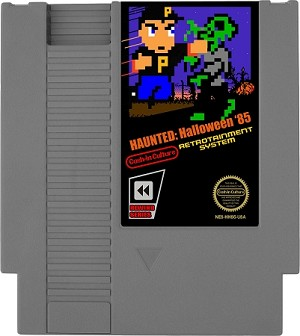 Haunted: Halloween '85 NES Game (Classic Gray Cartridge Only)