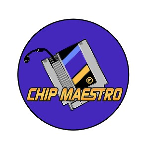 "Chip Maestro Cartridge and Logo 1"" Pin"