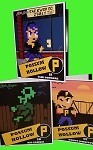 Haunted: Halloween '86 Set of 3 Retro File School Folders