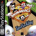 Animaniacs Ten Pin Alley - PS1 Video Game