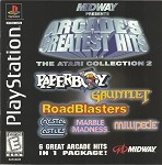 Arcade's Greatest Hits: The Atari Collection 2 - PS1 Video Game