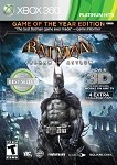 Batman Arkham Asylum Game of the Year Edition - Xbox 360 Video Game