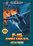 F-15 Strike Eagle II - Sega Genesis Video Game