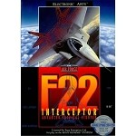 F22 Interceptor - Sega Genesis Video Game