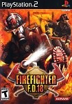 Firefighter F.D.18 - PS2 Video Game