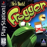 Frogger - PS1 Video Game