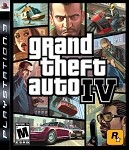 Grand Theft Auto IV - PS3 Video Game