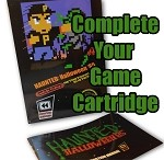 Haunted: Halloween '85 Box/Manual/Sleeve/Insert for Completing Your Collection (NO GAME INCLUDED!!!)