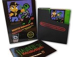 Haunted: Halloween '85 NES Game (Complete In Box - Zombie Green Cartridge)