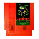 Haunted: Halloween '86 (The Curse Of Possum Hollow) NES Game (Pumpkin Orange Cartridge Only)