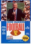 John Madden Football '92 - Sega Genesis Video Game