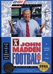 John Madden Football '93 - Sega Genesis Video Game