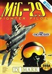 MIG-29 Fighter Pilot - Sega Genesis Video Game