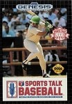Sports Talk Baseball - Sega Genesis Video Game