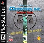 Monsters, Inc. Scream Team - PS1 VIdeo Game